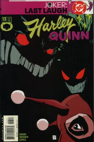 Cover for Harley Quinn #13