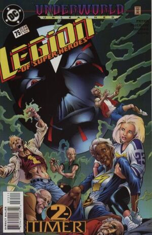 Cover for Legion of Super-Heroes #75