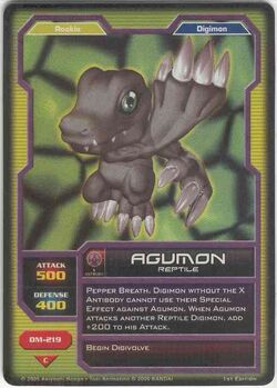 Agumon DM-219 (DC)