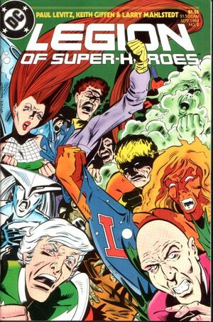Cover for Legion of Super-Heroes #2