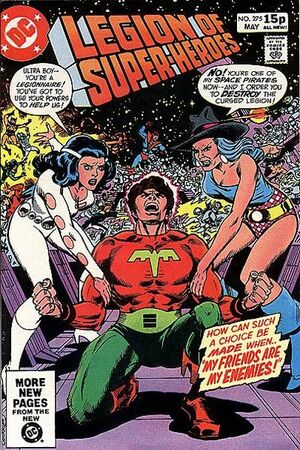 Cover for Legion of Super-Heroes #275