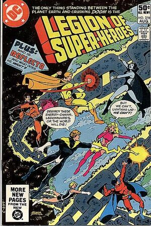 Cover for Legion of Super-Heroes #278