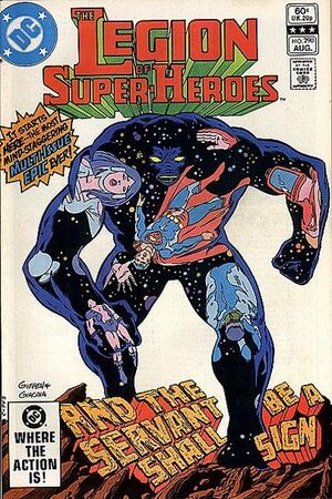 Cover for Legion of Super-Heroes #290