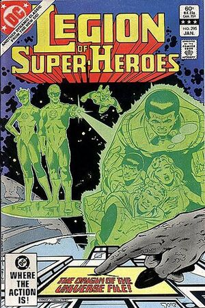 Cover for Legion of Super-Heroes #295