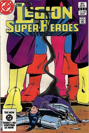 Cover for Legion of Super-Heroes #305
