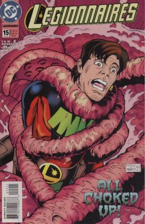 Cover for Legionnaires #15