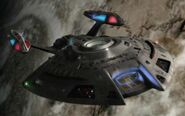 USS Equinox, forward