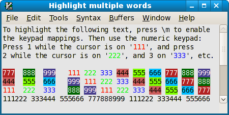 HighlightMultipleWords