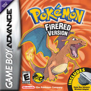 FireRed boxart