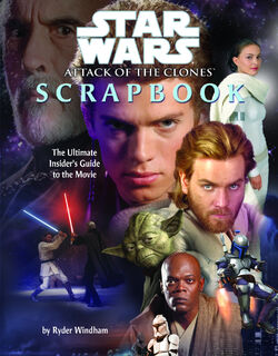 Attack of the Clones Scrapbook