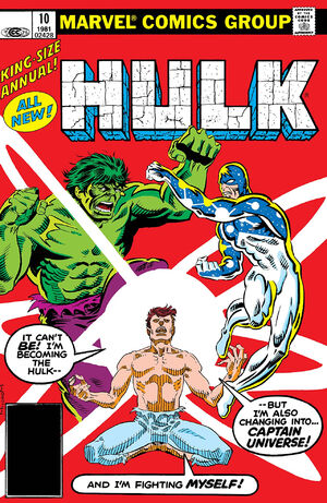 Gallery For > Captain Universe Hulk X 23 Marvel