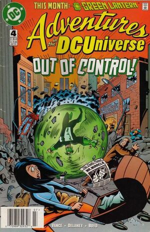 Cover for Adventures in the DC Universe #4