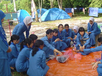 Girl Guides Association of Malaysia - A string to tie