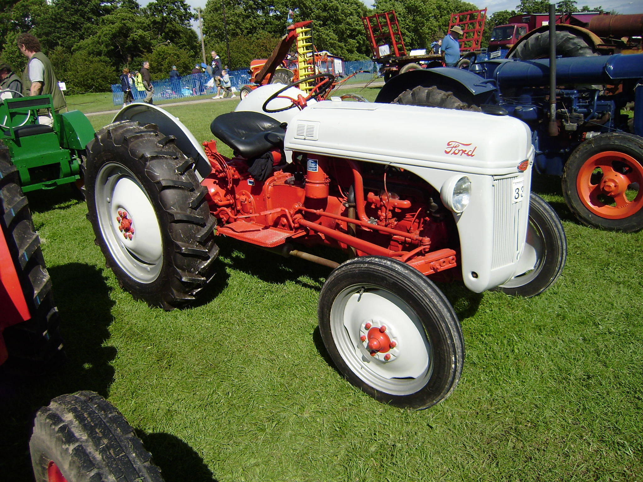 Ford N Restored In Red Driffield P