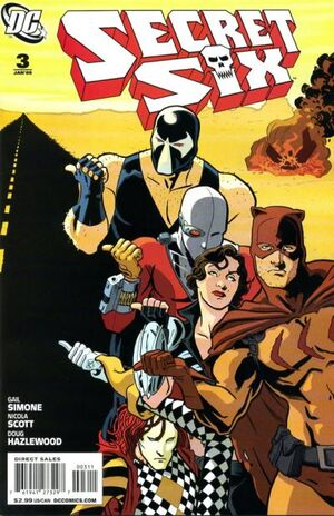Cover for Secret Six #3