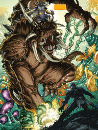 Bull rancor tfucomic
