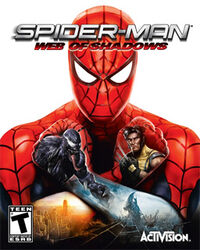 Web of shadows boxart