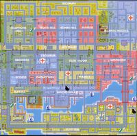 Mapa de San Andreas gta 1