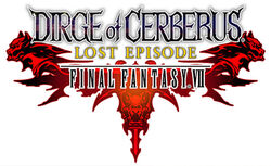 Logo FFVII Dirge of Cerberus Lost Episode