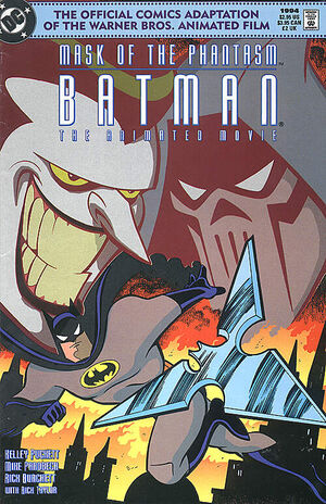 Cover for Batman: Mask of the Phantasm - The Animated Movie #1
