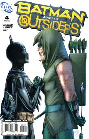 Cover for Batman and the Outsiders #4