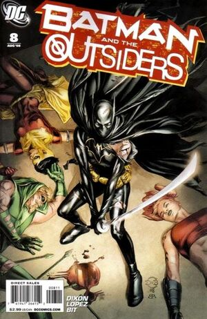 Cover for Batman and the Outsiders #8