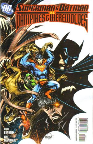 Cover for Superman and Batman vs. Vampires and Werewolves #3