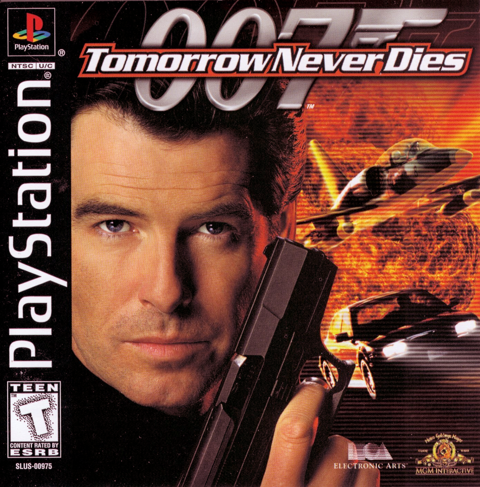 Tomorrow Never Dies cover