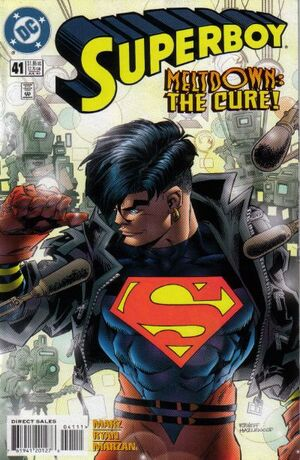 Cover for Superboy #41