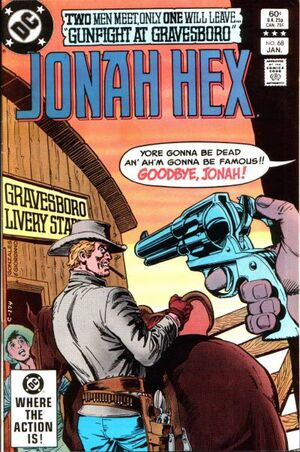 Cover for Jonah Hex #68