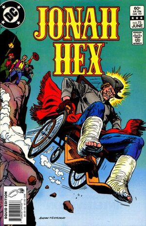 Cover for Jonah Hex #73