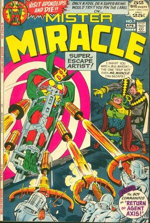 Cover for Mister Miracle #7