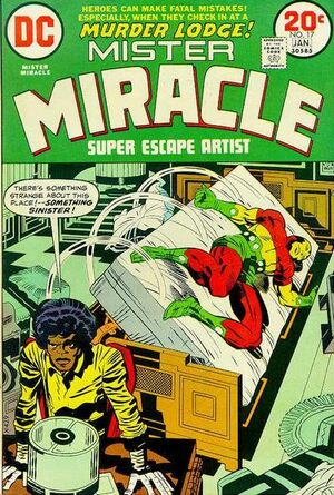 Cover for Mister Miracle #17