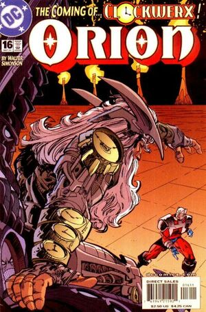 Cover for Orion #16