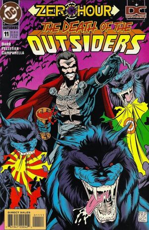Cover for Outsiders #11