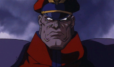 M Bison Street Fighter Movie M.Bison(Animated) vs A...