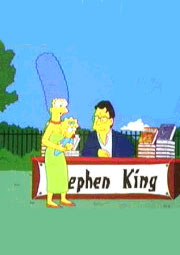 La Larga Marcha Richard Bachman (Stephen King) Stephen_king_et_marge_simpson
