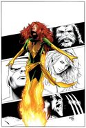 X-Men Phoenix Endsong Vol 1 2 Variant Sketch Textless
