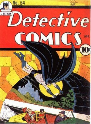 Cover for Detective Comics #54