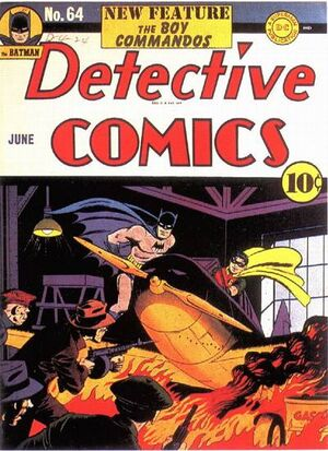 Cover for Detective Comics #64