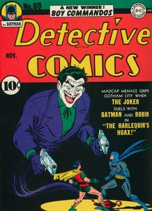 Cover for Detective Comics #69