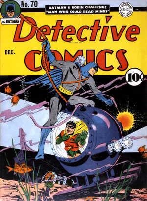 Cover for Detective Comics #70
