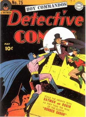 Cover for Detective Comics #75