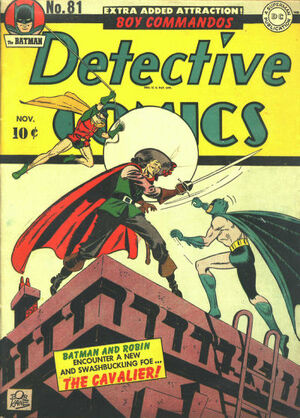 Cover for Detective Comics #81