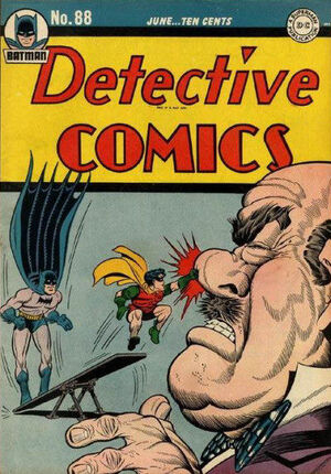 Cover for Detective Comics #88