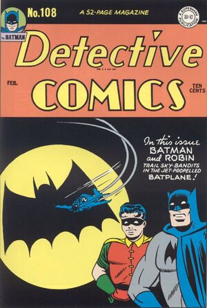 Cover for Detective Comics #108