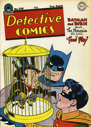 Cover for Detective Comics #120