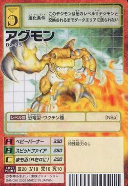 Agumon Bx-25 (DM)