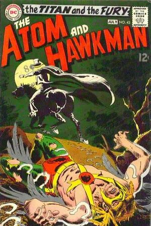 Cover for Atom and Hawkman #43