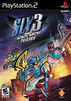 Sly Cooper : Honor Among Theives (Images and Videos)   250px-PS2Sly3